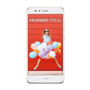 "HUAWEI P10 lite 32GB Pearl White [13,2 cm (5,2"") Full-HD Display, Android 7.0, Octa-Core, 12MP Kamera, Fingerprint, Dual-SIM]"