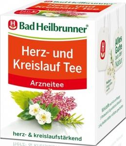 Bad Heilbrunner Herz- und Kreislauf Tee 8x 1,8 g