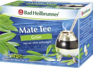 Bad Heilbrunner Mate Tee grün 15x 1,8 g