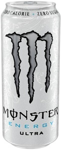 Monster Ultra White Energydrink 0,5 ltr