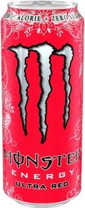 Monster Ultra Red Energydrink 0,5 ltr