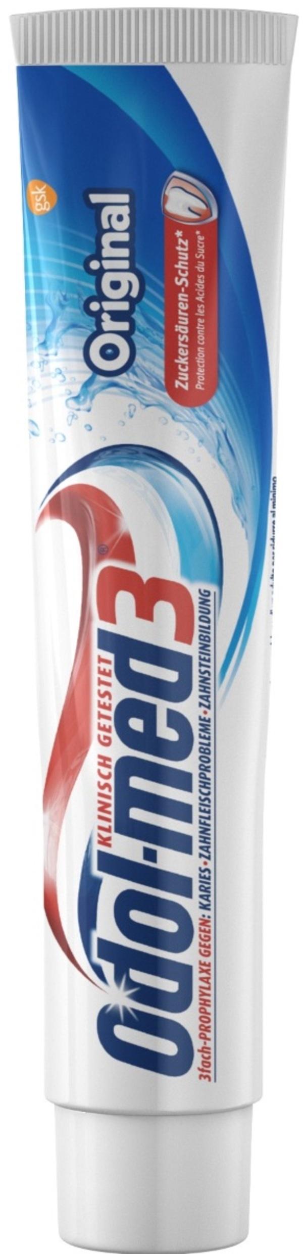 Odol Med 3 Zahncreme Original 75 ml