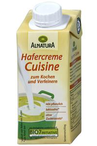 Alnatura Bio Hafercreme Cuisine 200 ml