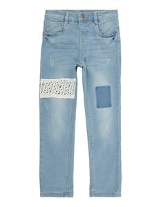 Mädchen Stone Washed 5-Pocket-Jeans