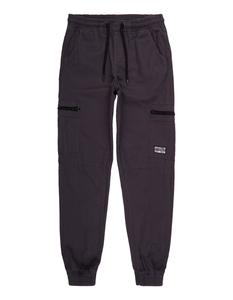 Jungen Slim Fit Jogpants mit Reißverschlusstaschen
