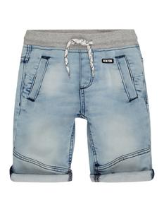 Jungen Jeansbermudas mit elastischem Bund