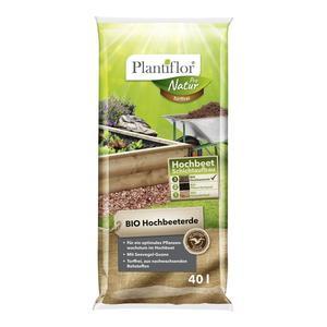 Plantiflor              BIO Hochbeet-Erde, torffrei, 40 L