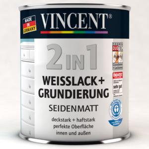 Vincent              Weißlack 2in1 seidenmatt