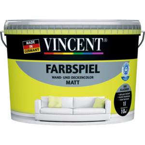 "Vincent              Wand- & Deckencolor ""Farbspiel"", Limone"