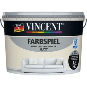 "Vincent              Wand- & Deckencolor ""Farbspiel"", Linde 2,5 L"