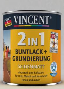 Vincent              2in1 Buntlack cremeweiß