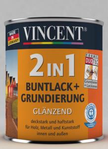 Vincent              2in1 Buntlack nussbraun