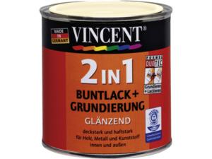 Vincent              2in1 Buntlack altweiß