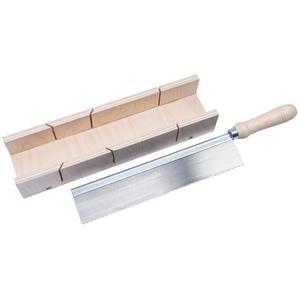 Basic              Schneidladen-Set, Feinsaege 250 mm