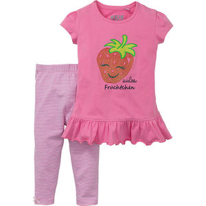Kids and Friends Baby Kleidchen mit Leggings, 2 teilig