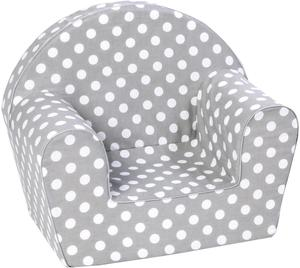 knorr toys Kindersessel Dots Grey