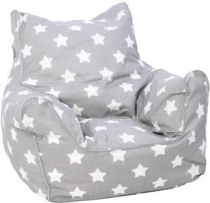 knorr toys Kindersitzsack Stars White