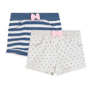 Baby Shorts 2er Pack für Mädchen