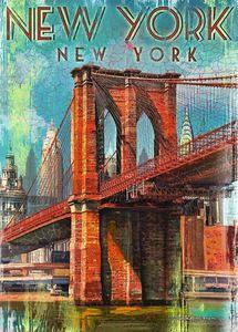 Ravensburger Puzzle - Retro New York, 1000 Teile