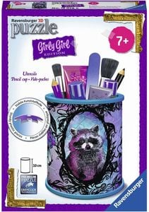 Ravensburger 3D Puzzles - Girly Girl Edition - Utensilo - Animal Trend, 54 Teile