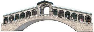 Ravensburger 3D Puzzles - Rialtobrücke, 216 Teile