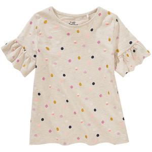 Mädchen T-Shirt mit Rüschen