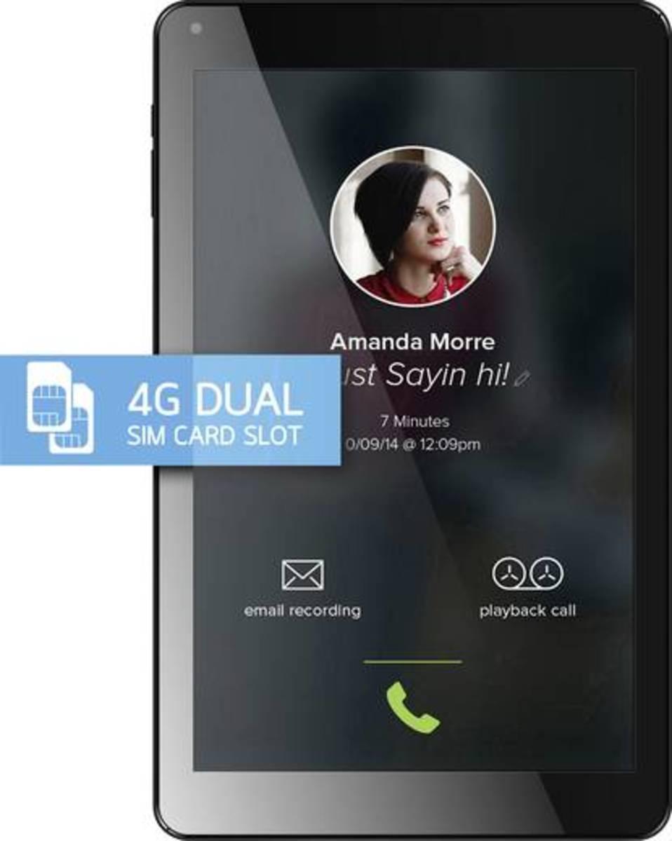 Bild 2 von Odys ODYS Xelio 10 Pro 4G/LTE Android-Tablet 25.7 cm (10.1 Zoll) 16 GB LTE/4G, Wi-Fi, GSM/2G, UMTS/3G Schwarz 1.3 GHz Q