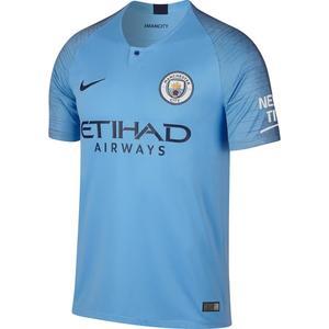 Fußballtrikot Manchester City Replika Erwachsene blau