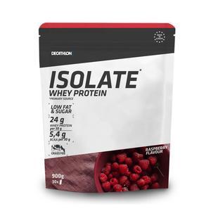 Proteinpulver Eiweißpulver Whey Protein Isolate Himbeere 900g
