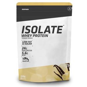 Proteinpulver Eiweißpulver Whey Protein Isolate Vanille 250 g