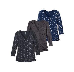 Laura Torelli COLLECTION Damen-Shirt mit tollem Muster