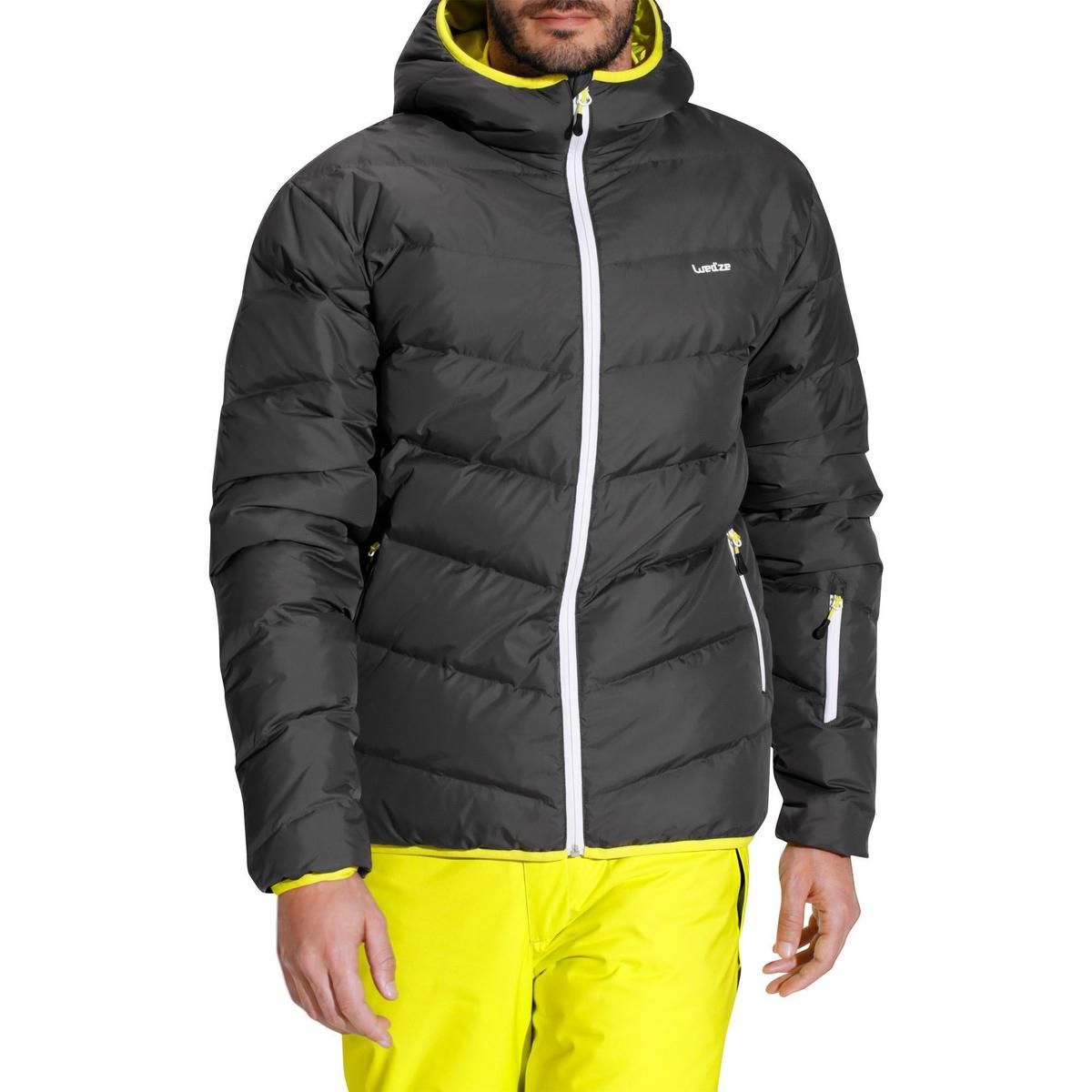 Bild 2 von Skijacke 500 Warm Herren grau
