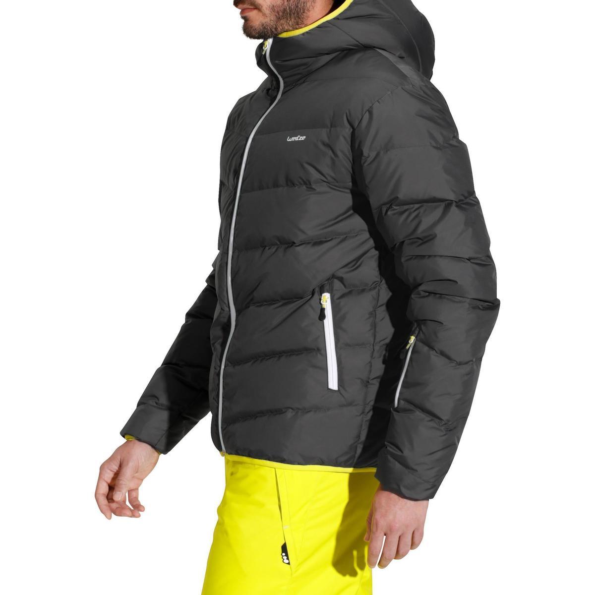 Bild 3 von Skijacke 500 Warm Herren grau