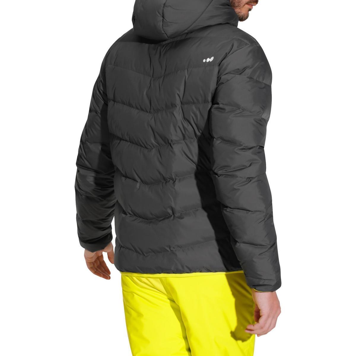 Bild 4 von Skijacke 500 Warm Herren grau