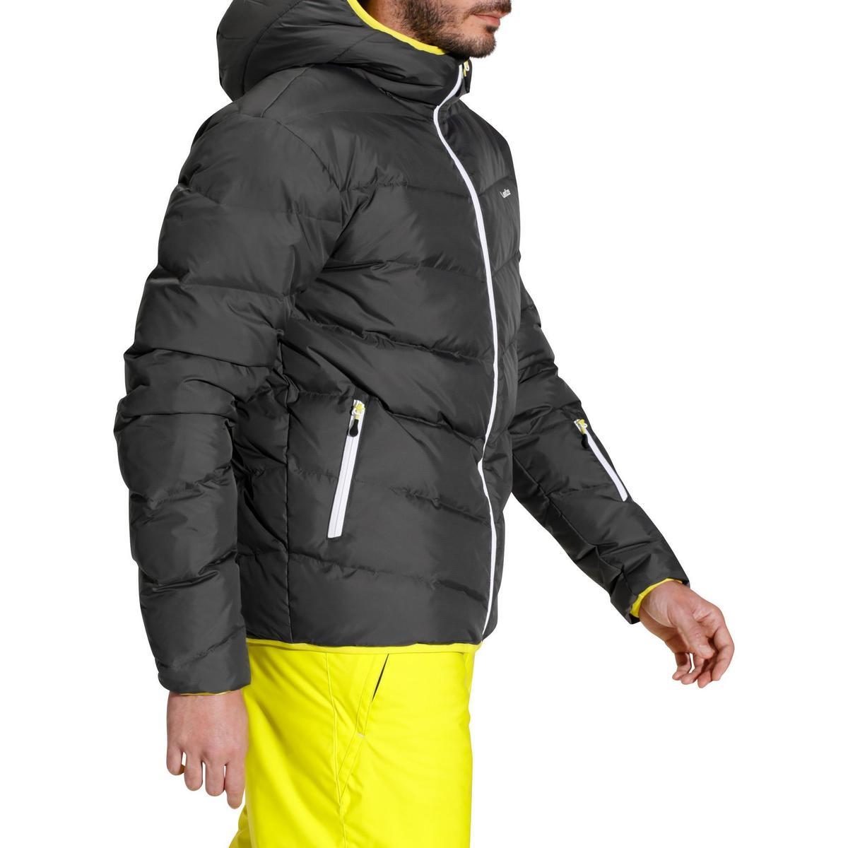 Bild 5 von Skijacke 500 Warm Herren grau