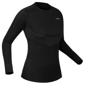 Skiunterwäsche Funktionsshirt 900 Damen schwarz