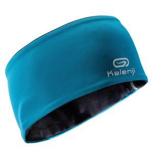 Stirnband Training Winter Kinder blau/schwarz