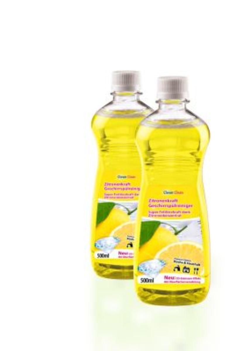 Bild 1 von Zitronenkraftreiniger Geschirrspülmittel, 3tlg.