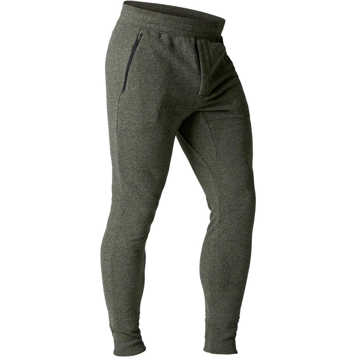 Bild 1 von Jogginghose Gym 500 Skinny Fitness Herren khaki