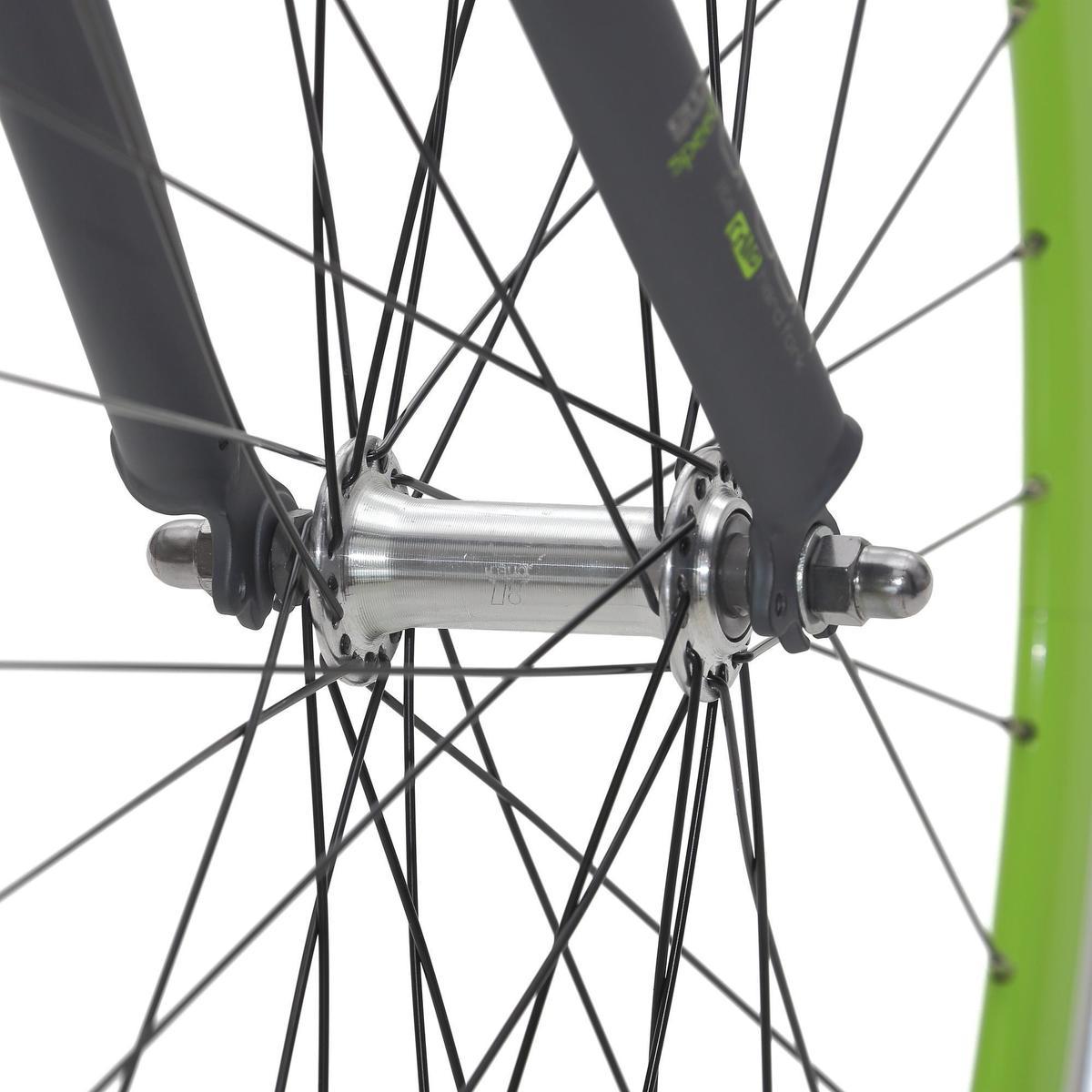Bild 4 von City-Bike 28 City Speed 500 Nexus 3 mattgrau/neongrün