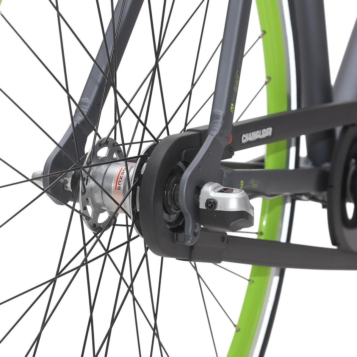 Bild 5 von City-Bike 28 City Speed 500 Nexus 3 mattgrau/neongrün