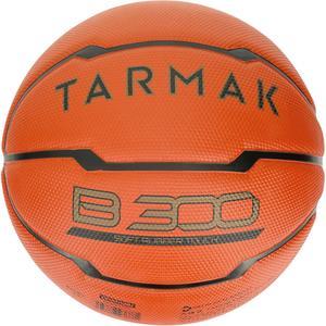 Basketball B300 Größe 5 Kinder orange für Einsteiger bis 10 Jahre.