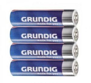 "Grundig Batterien Alkaline ""AAA"" 4er Pack"