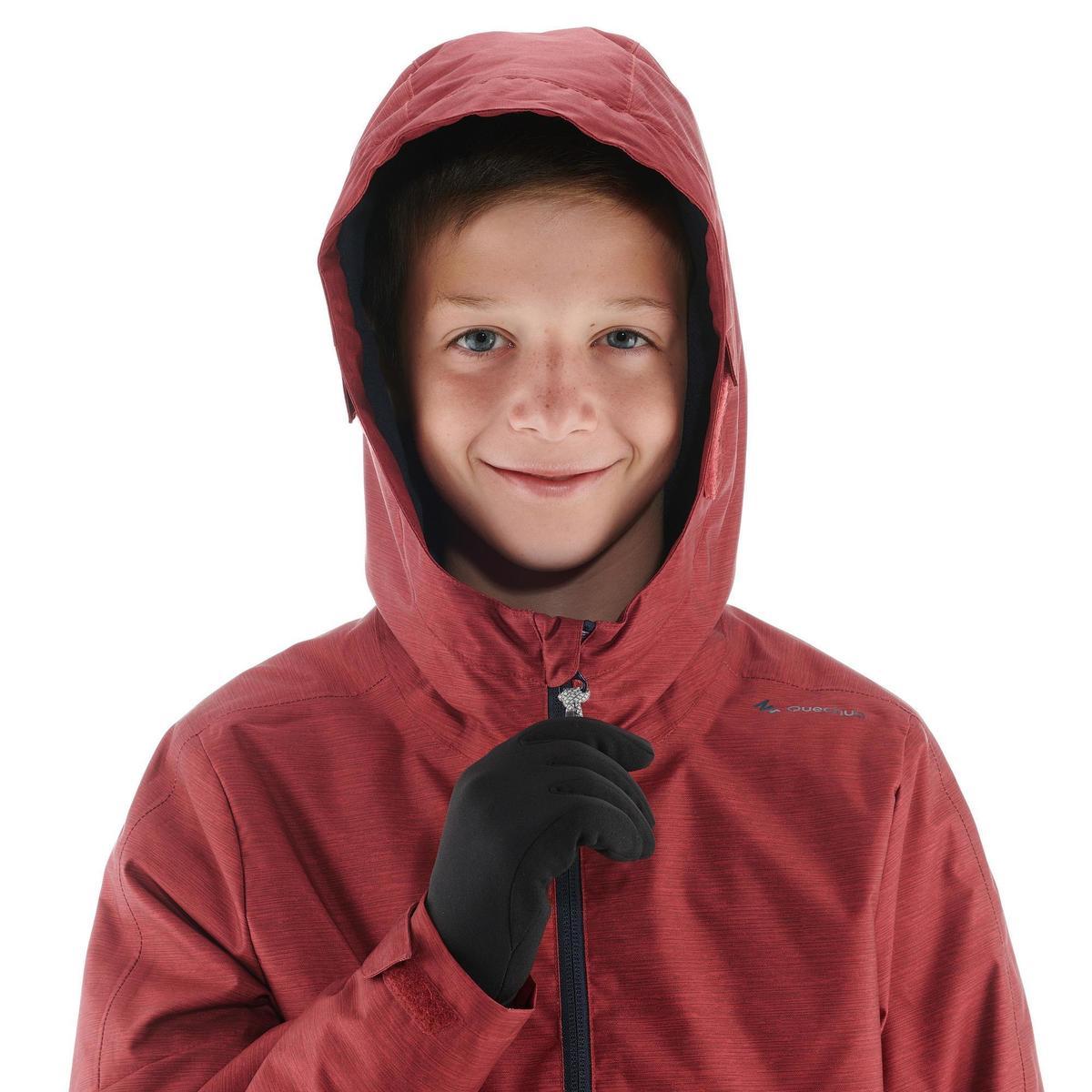 Bild 5 von Wanderjacke Schnee SH100 Warm Kinder rot