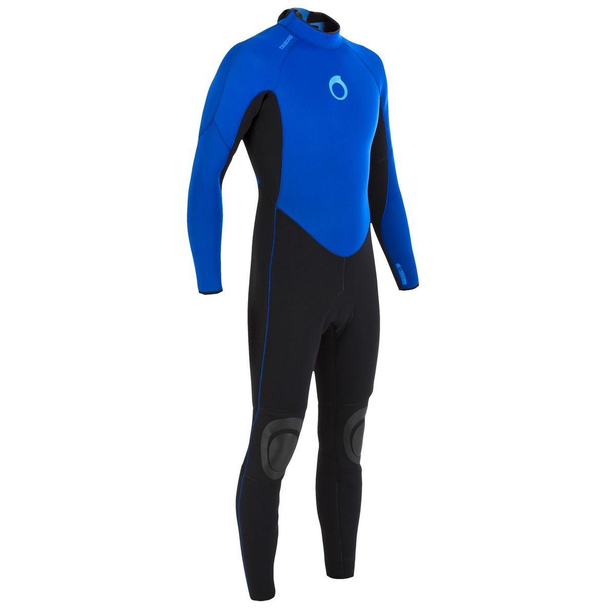 Bild 1 von Neoprenanzug Surfen 100 4/3mm Herren blau