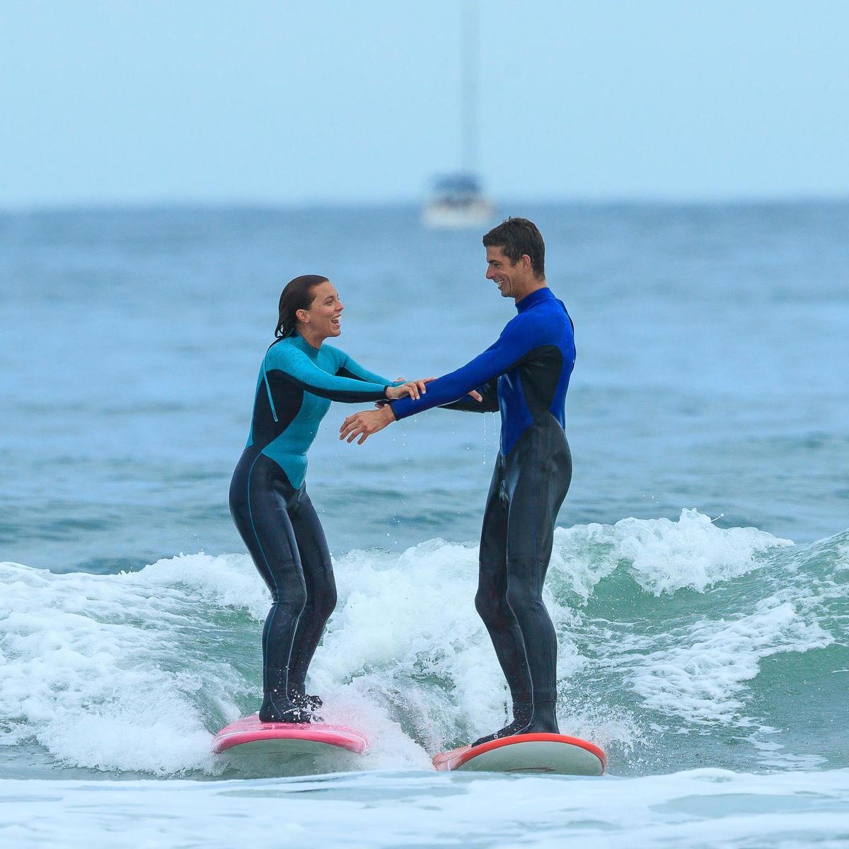Bild 5 von Neoprenanzug Surfen 100 4/3mm Herren blau