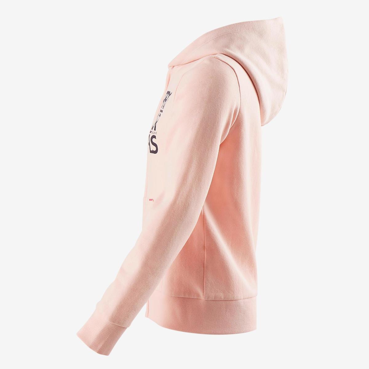 Bild 3 von Sweatshirtjacke 500 Gym Kinder rosa