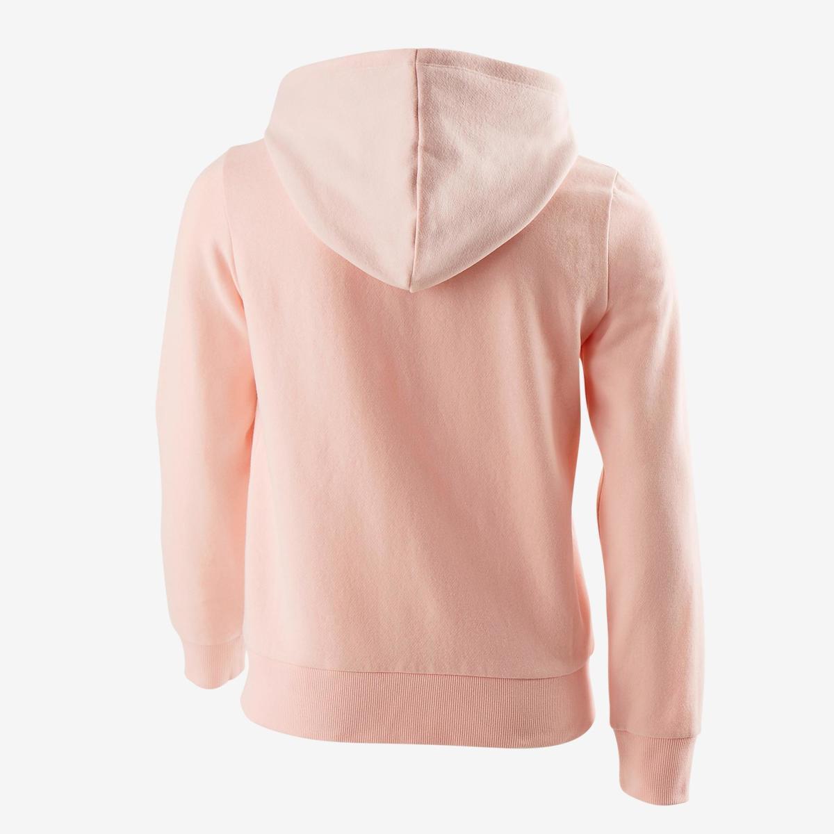 Bild 4 von Sweatshirtjacke 500 Gym Kinder rosa