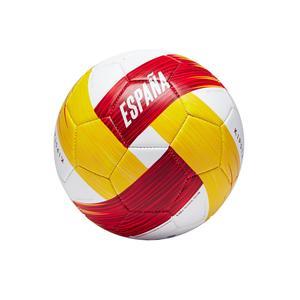 Fußball Spanien Gr. 1 weiß/rot/gelb
