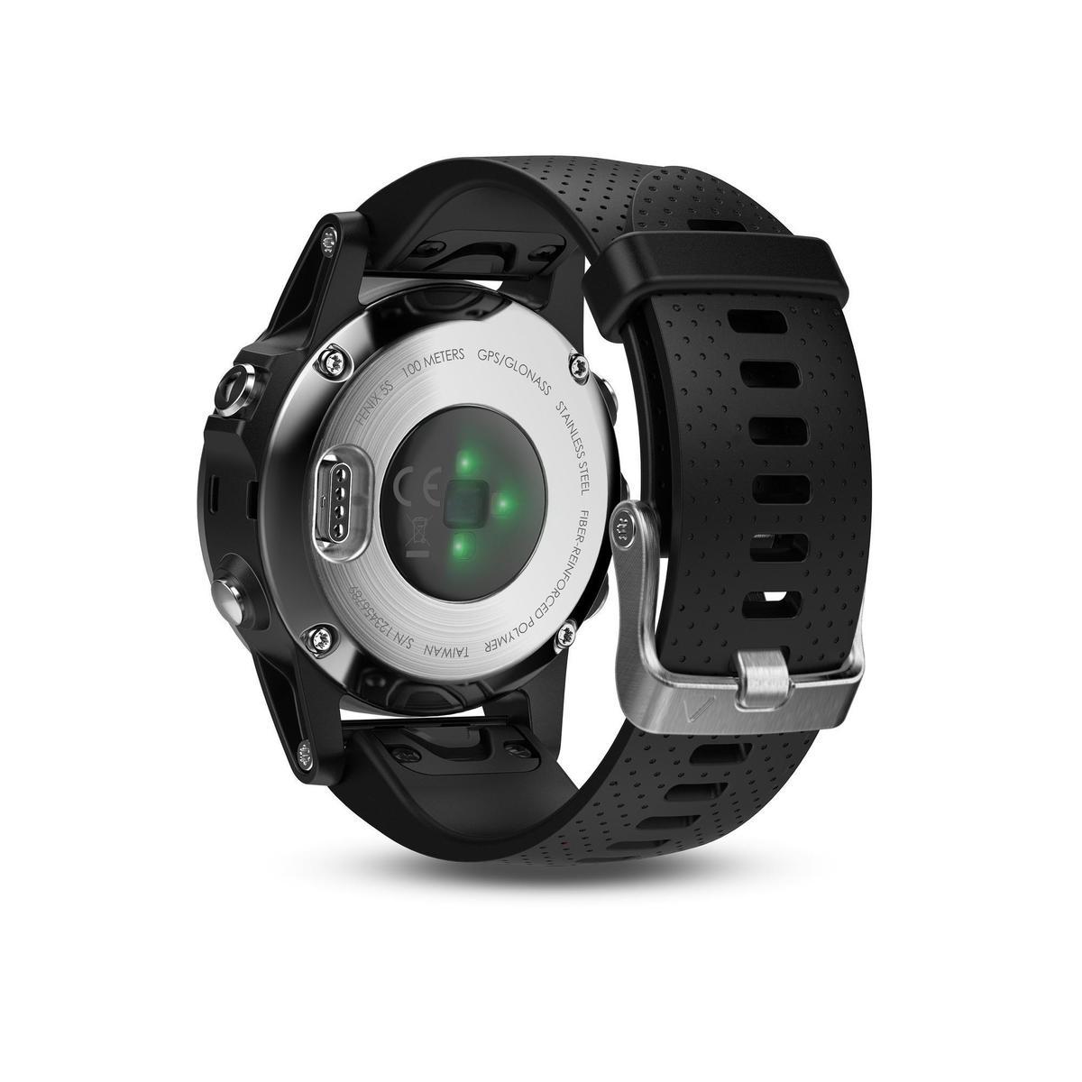 Bild 2 von GPS-Pulsuhr Fenix 5S Multisport HRM silber/schwarz